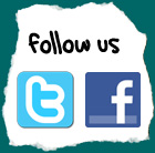 Follow Us - Twitter & Facebook
